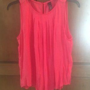 GAP pink sleeveless blouse